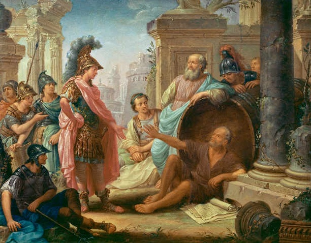 Thomas_Christian_Wink_-_Diogenes_and_Alexander